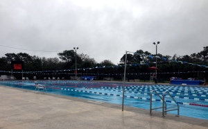New Year's Day at the North County Aquatic Center, Sebastian FL